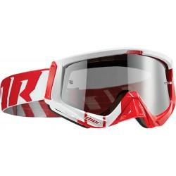Motokrosové brýle Thor SNIPER BARRED RED/WHITE GOGGLE 2017