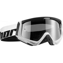 Motokrosové brýle Thor SNIPER CARBON WHITE/BLACK GOGGLE 2017