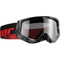 Motokrosové brýle Thor SNIPER CHASE BLACK/RED GOGGLE 2017