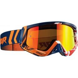 Motokrosové brýle Thor SNIPER GEO NAVY/ORANGE GOGGLE 2017