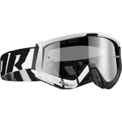 Motokrosové brýle Thor SNIPER BARRED WHITE/BLACK GOGGLE 2017