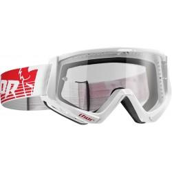 Motokrosové brýle Thor CONQUER RED/WHITE GOGGLE 2017
