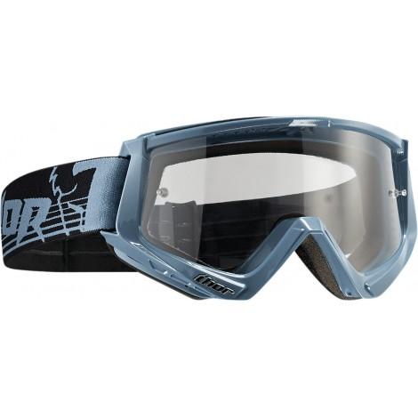 Motokrosové brýle Thor CONQUER STEEL/BLACK GOGGLE 2017