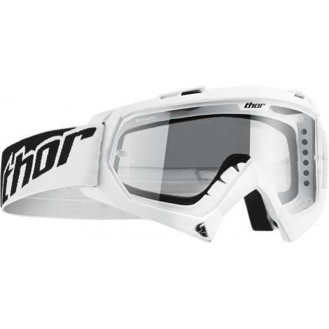 Motokrosové brýle Thor ENEMY SOLID WHITE GOOGLE 2017