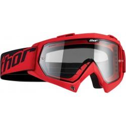 Motokrosové brýle Thor ENEMY SOLID RED GOOGLE 2017