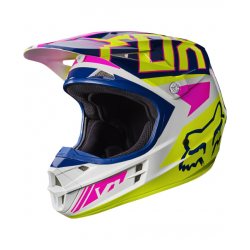 Motokrosová helma Fox Racing V1 Falcon navy/white 2017