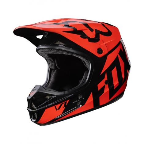 2b31c3e9969 Motokrosová helma Fox Racing V1 Race orange 2017
