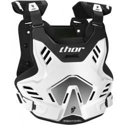 Motokrosový chránič Thor SENTINEL GP WHITE/BLACK 2017