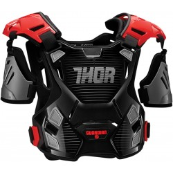 Motokrosový chránič Thor GUARDIAN BLACK/RED 2017