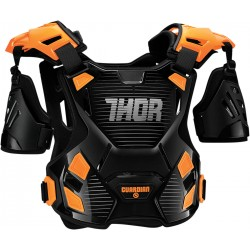 Motokrosový chránič Thor GUARDIAN BLACK/ORANGE 2017