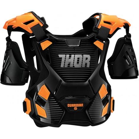 Motokrosový chránič Thor GUARDIAN BLACK/RED 2017