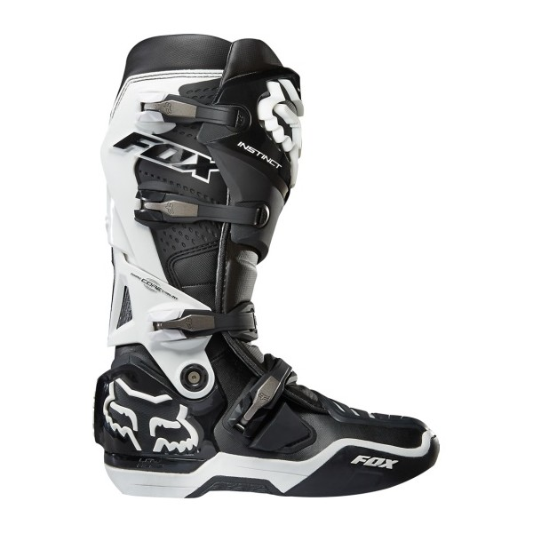 f120016e89b Motokrosové boty Fox Racing Instinct Boot Black Yellow