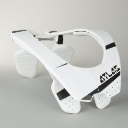 Chránič krční páteře ATLAS AIR TROOPER white motokros/enduro (bílý)
