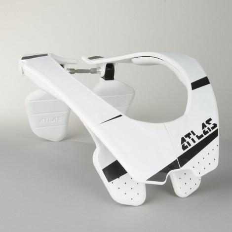 Chránič krku ATLAS Neck Brace white/bílý motokros/enduro