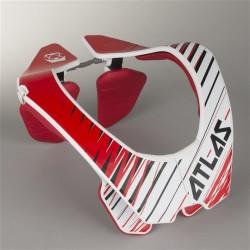Chránič krční páteře ATLAS AIR RED TORNADO, motokros/enduro (červený)