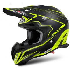 Motokrosová helma AIROH TERMINATOR 2.1S SLIM černá/žlutá 2017