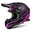 Motokrosová helma AIROH TERMINATOR 2.1S SLIM černá/fialová 2017