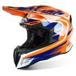 Motokrosová helma AIROH TWIST SPOT bílá/černá 2017