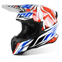 Motokrosová helma AIROH TWIST Leader bílá/černá/červená 2017