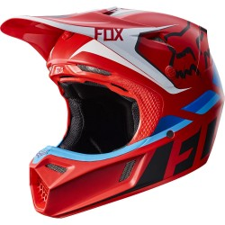 Motokrosová helma Fox Racing V3 Seca Helmet ECE Red 2017