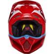 Motokrosová helma Fox Racing V3 Grav Helmet, ECE Black/Yellow 2017