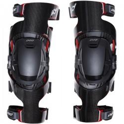 Ortézy na kolena pro motokros enduro POD K700 pár Knee Brace Carbon