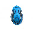 Motokrosová MX přilba Cassida-ČR, Cross Cup (Modrá/Bílá Perleť/Černá)