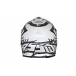 Motokrosová MX přilba Cassida-ČR, Cross Cup (Bílá Perleť/černá)