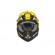 Motokrosová MX přilba Cassida-ČR, Cross Cup (Žluto fluo/Černá/Bílá Perleť)