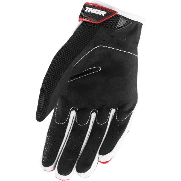 Motokrosové rukavice Thor SPECTRUM RED BLACK WHITE GLOVES 2018 cae11b2d53