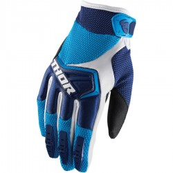 Motokrosové rukavice Thor SPECTRUM NAVY/BLUE/WHITE GLOVES 2018