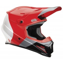 Motokrosová helma Thor SECTOR S9 BOMBER RED/CHARCOAL MIPS HELMET 2019