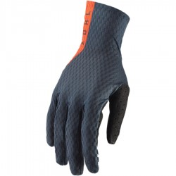 Motokrosové rukavice Thor AGILE MIDNIGHT/RED ORANGE GLOVES 2019
