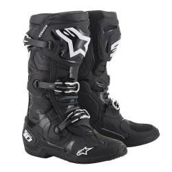 Motokrosové boty ALPINESTARS TECH 10 MX19 boty - černá 2019