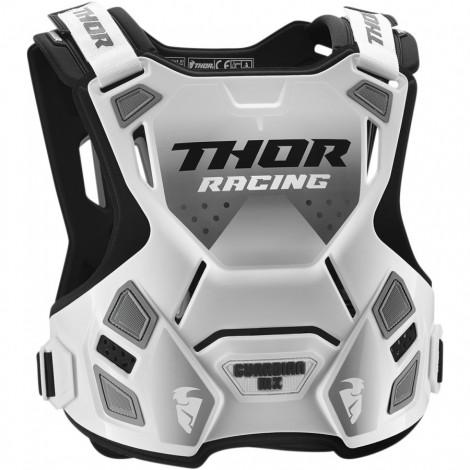 Motokrosový chránič Thor GUARDIAN MX WHITE/BLACK
