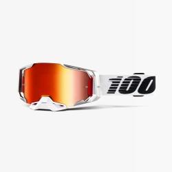 Motokrosové brýle 100% ARMEGA Lightsaber se zrcadlovým sklem 2019