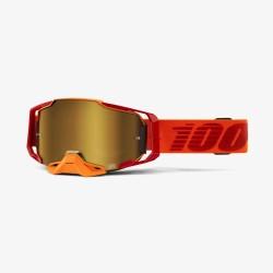 Motokrosové brýle 100% ARMEGA Litkit se zrcadlovým sklem 2019
