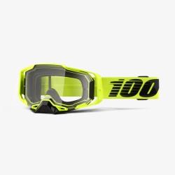 Motokrosové brýle 100% ARMEGA Nuclear Citrus s čirým sklem 2019