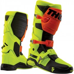 Motokrosové  MX Boty THOR Radial 19 - flo orange/flo yellow