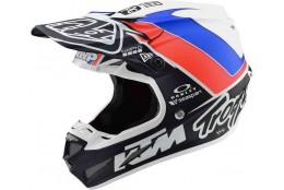 MX helma TroyLeeDesigns SE4 Composite Unite White Navy  KTM 2019