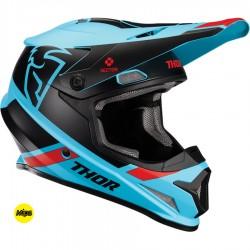 Motokrosová helma Thor SECTOR MIPS SPLIT BLUE/BLACK HELMET 2020