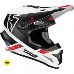 Motokrosová helma Thor SECTOR MIPS SPLIT WHITE/BLACK HELMET 2020