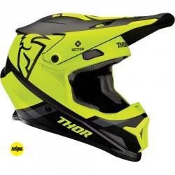 Motokrosová helma Thor SECTOR MIPS SPLIT BLACK/ACID HELMET 2020