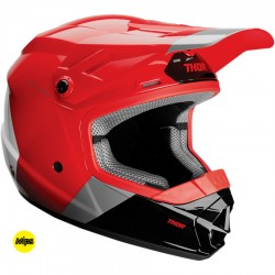 Motokrosová helma dětská Thor SECTOR MIPS BOMBER RED/CHARCOAL HELMET 2020