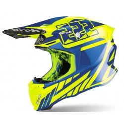 Motokrosová helma Airoh TWIST 2.0 CAIROLI 2020, - TW2CR31 (MODRÁ/FLUO)