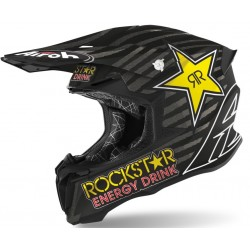 Motokrosová helma Airoh TWIST 2.0 ROCKSTAR 2020, - TW2RK35 (ČERNÁ/BÍLÁ)