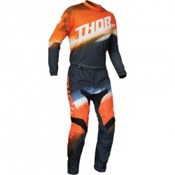 Motokrosový komplet Thor S20 SECTOR VAPOR ORANGE/MIDNIGHT 2021