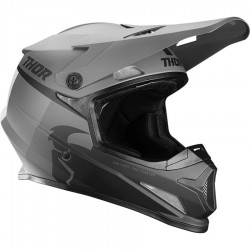 Motokrosová helma Thor S21 SECTOR RACR BLACK/CHARCOAL HELMET 2021