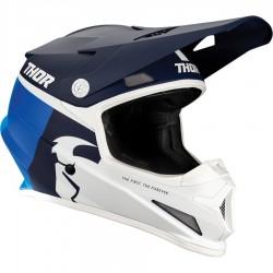 Motokrosová helma Thor S21 SECTOR RACR NAVY/BLUE HELMET 2021