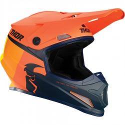 Motokrosová helma Thor S21 SECTOR RACR ORANGE/MIDNIGHT HELMET 2021